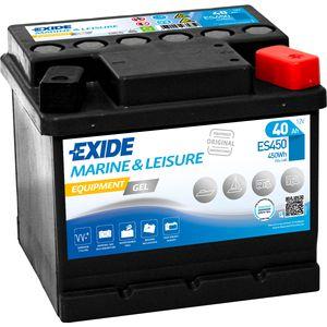 ES450 Exide G40 Marine and Multifit Gel Leisure Battery 40Ah