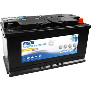ES900 Exide G80 Marine and Multifit Gel Leisure Battery 80Ah