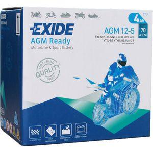 AGM12-5 Exide Motorcycle Battery 12V (4910)