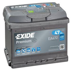 EA472 Exide Premium Car Battery 063TE