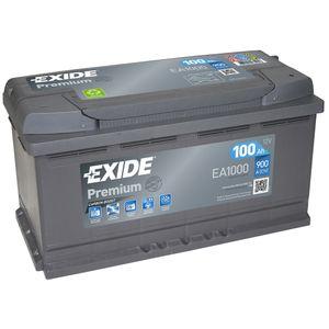 EA1000 Exide Premium Car Battery 017TE