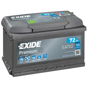 EA722 Exide Premium Car Battery 096TE