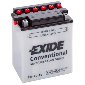 Exide YB14L-A2 12V Motorcycle Battery EB14L-A2