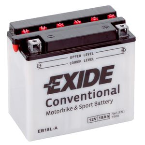 Exide EB18L-A 12V Conventional Motorcycle Battery