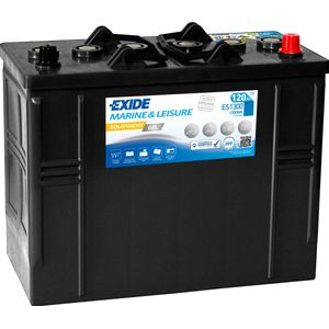 ES1300 Exide G120 Exide Marine and Multifit Gel Leisure Battery 120Ah