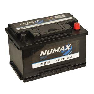 067 Numax Car Battery 12V 66AH