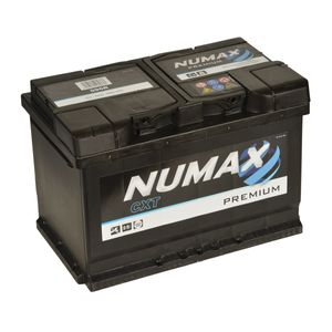 086 Numax Car Battery 12V 72Ah