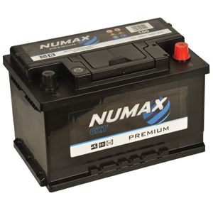 100 Numax Car Battery 12V 68Ah