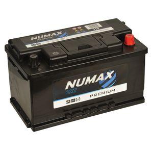 110 Numax Car Battery 12V 80Ah
