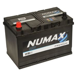 250H Numax Car Battery 12V 91AH