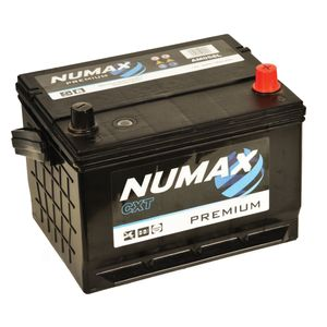 AM058L Numax Car Battery 12V 57AH