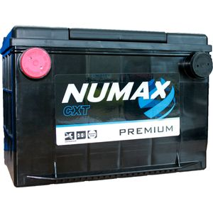75-70 Numax Side Terminal Car Battery 12V 70AH