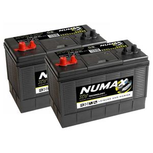 Pair of Numax CXV31MF Sealed Leisure Batteries