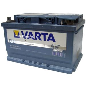 Type 099 Varta Black Dynamic Car Battery 12V 70Ah  (Short Code: E10) (Varta DIN: 570 145 064)