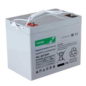 LSLC75-12 Lucas Sealed Lead Acid Battery 75Ah