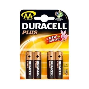 Duracell AA (Four Pack)