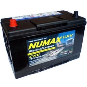 Numax CXV30HMF  Sealed Leisure Battery   12V 105Ah 1000MCA   500 Cycles XV30HMF
