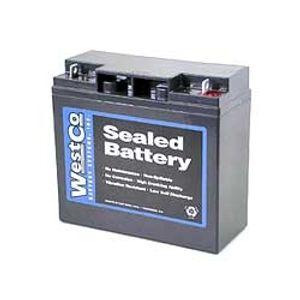 51913 BMW Westco Batterie De Moto 12V 20Ah  (12V20P)