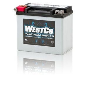 WCP12 Westco Platinum Motorcycle Battery 12V 10Ah (SVR12)