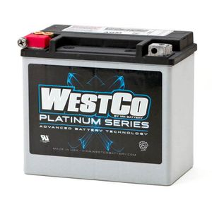 WCP14 Westco Platinum Motorcycle Battery 12V 12Ah - Replaces YTX14-BS
