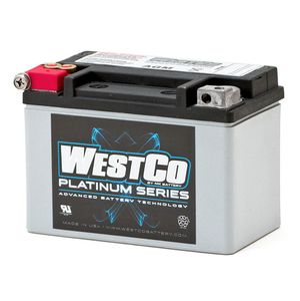 WCP9 Westco Platinum Batterie De Moto 12V 8Ah YTX9-BS