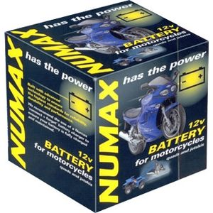 YB12A-A Gel Numax Motorcycle Battery 12V 12Ah AGM YB12AA