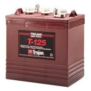 8 x T-125 Trojan Battery Deep Cycle (T125)