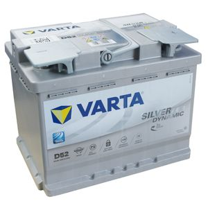D52 Varta Start-Stop Plus 027 AGM Car Battery 12V 60Ah (560901068)