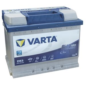 D53 Varta Start-Stop EFB Car Battery 12V 60Ah (560500056)