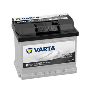 Type 063 Varta Black Dynamic Car Battery 12V 45Ah  (Short Code: B39)  (Varta DIN: 545 200 030)