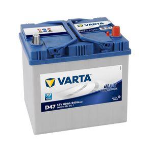 D47 Varta Blue Dynamic Car Battery 12V 60Ah (560410054) (005L)