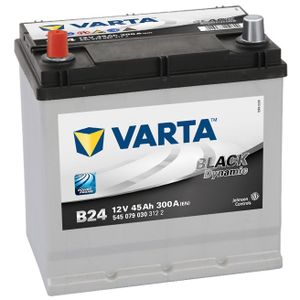 Type 049H Varta Black Dynamic Car Battery 12V 45Ah  (Short Code: B24) (Varta DIN: 545 079 030)