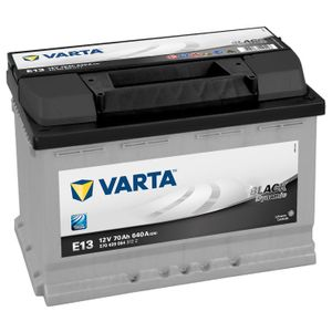 Type 096 Varta Car Battery 12V 70Ah  (Short Code: E13) (Varta DIN: 570 409 064)