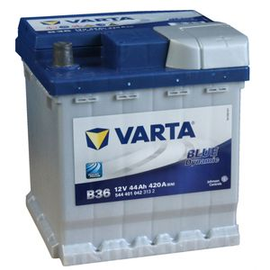 B36 Varta Blue Dynamic Car Battery 12V 44Ah (544401042) (002L 202)