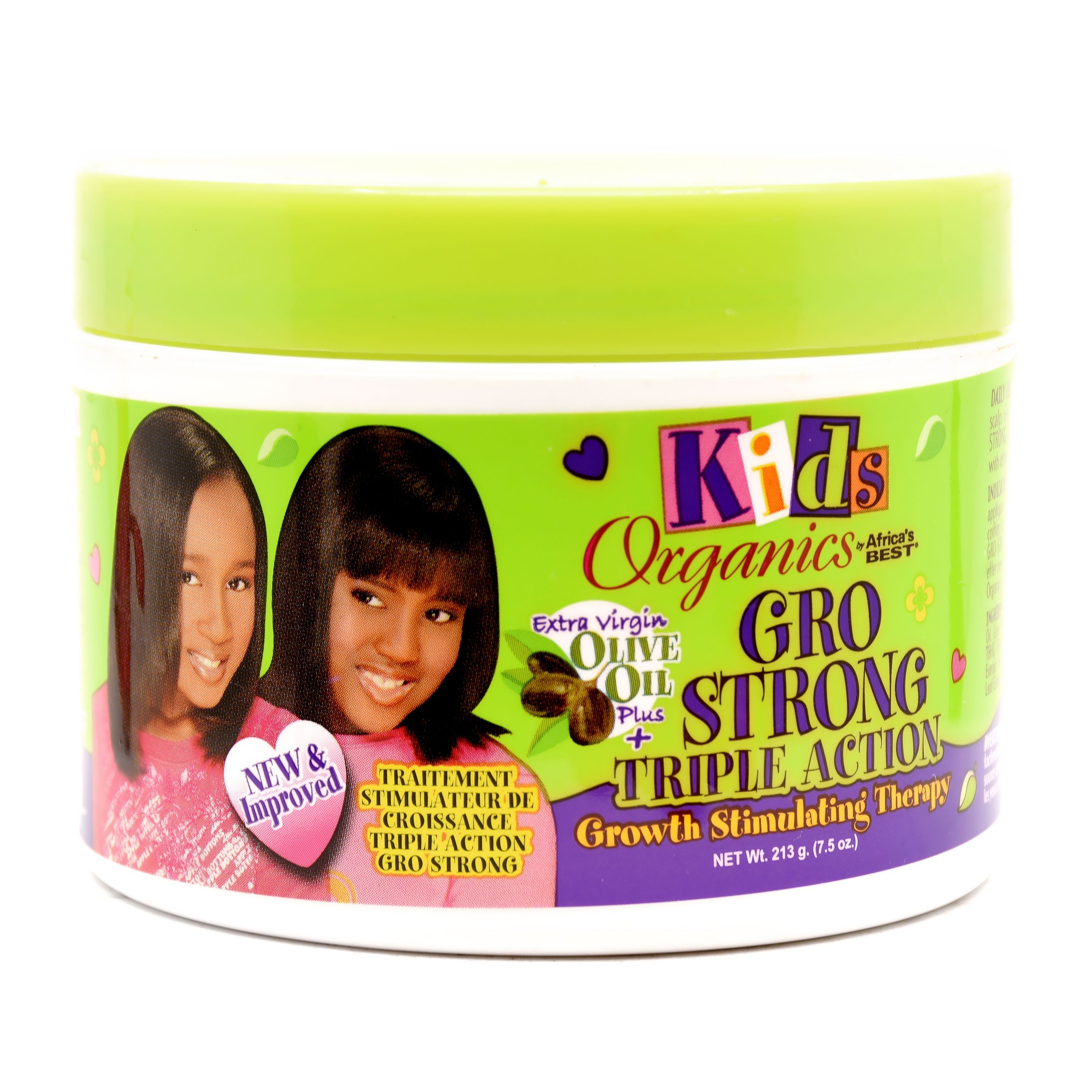 Kids Original Africa's Best Gro Strong Triple Action Growth Stimulating Therapy - 7.5oz