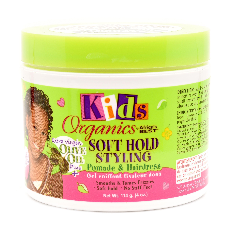 Kids Original Africa's Best Soft Hold Styling Pomade & Hairdress - 4oz