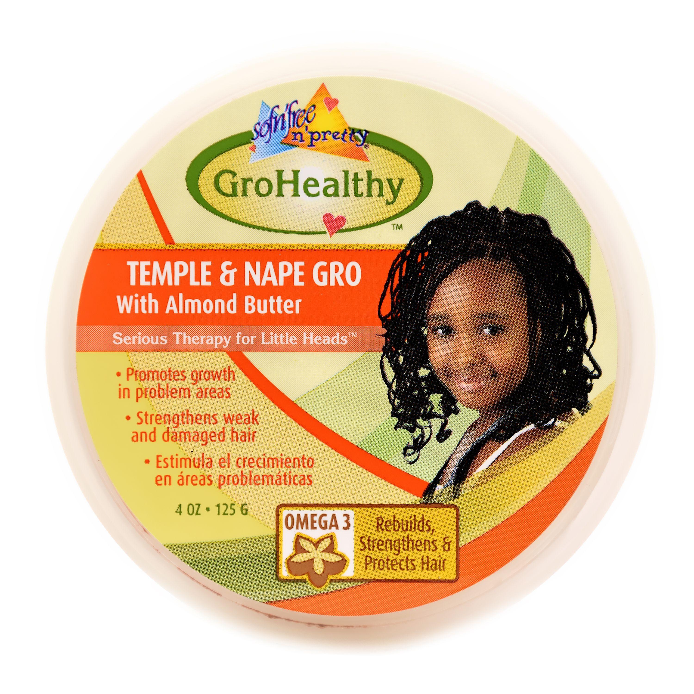 Sofn'Free N' Pretty GroHealthy Temple & Nape Gro - 4oz