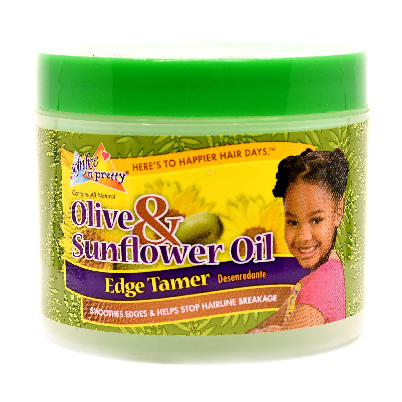 Sofn'Free N' Pretty Olive & Sunflower Edge Tamer - 4oz