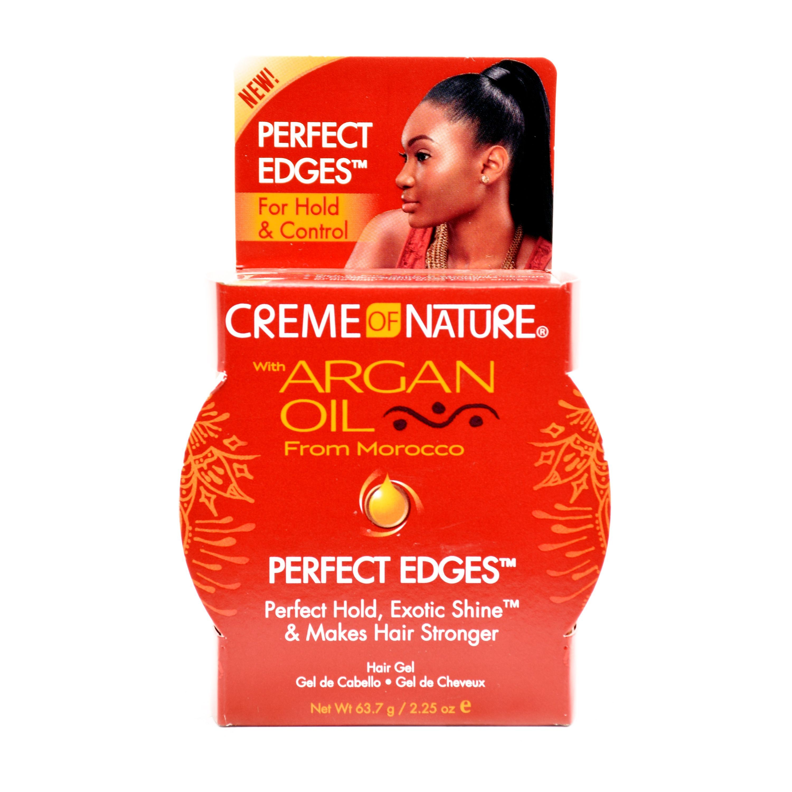 Creme Of Nature Argan Oil Perfect Edges For Hold & Control - 2.25oz