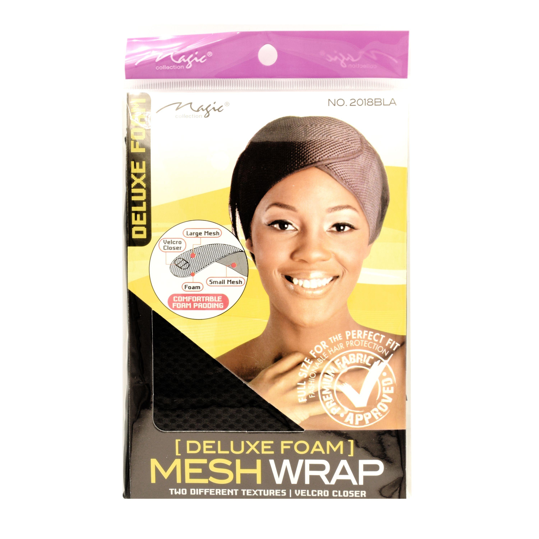 Magic Collection Women's Delux Foam Mesh Wrap - 2018Bla