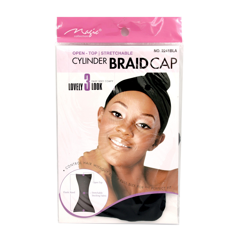 Magic Collection Women's Cylinder Braid Cap - 2241Bla