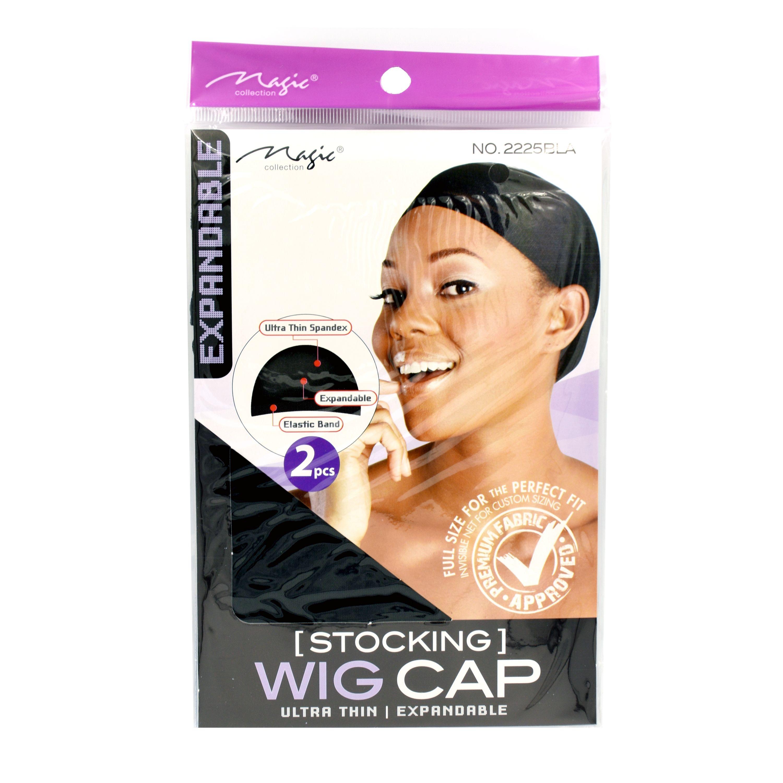 Magic Collection Women's Stocking Wig Cap Black - 2225Bla