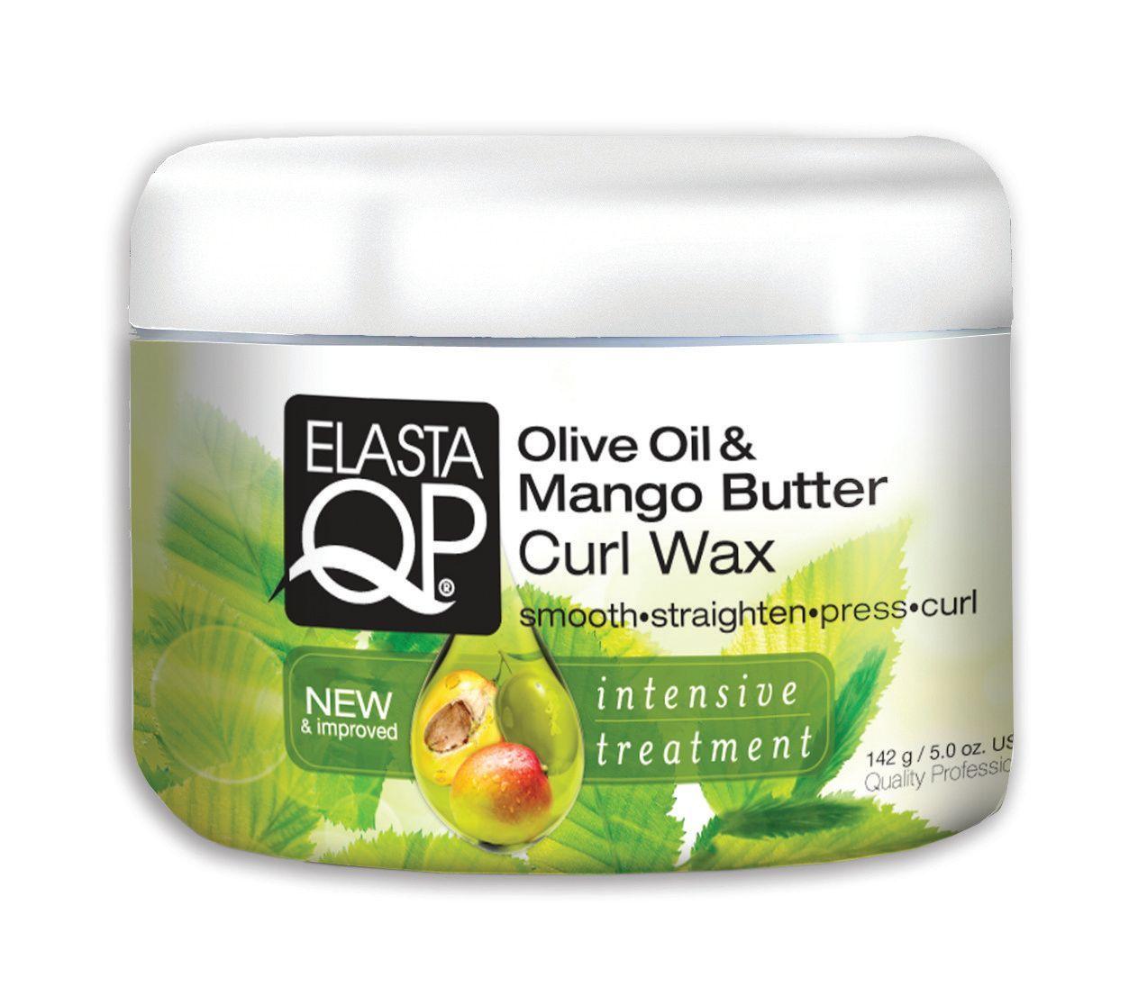 Elasta QP Olive Oil & Mango Butter Curl Wax - 5oz
