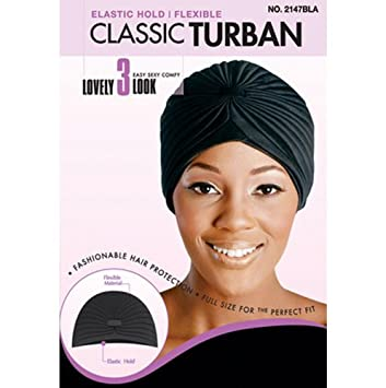 Magic Collection Women's Classic Turban - 2147Bla