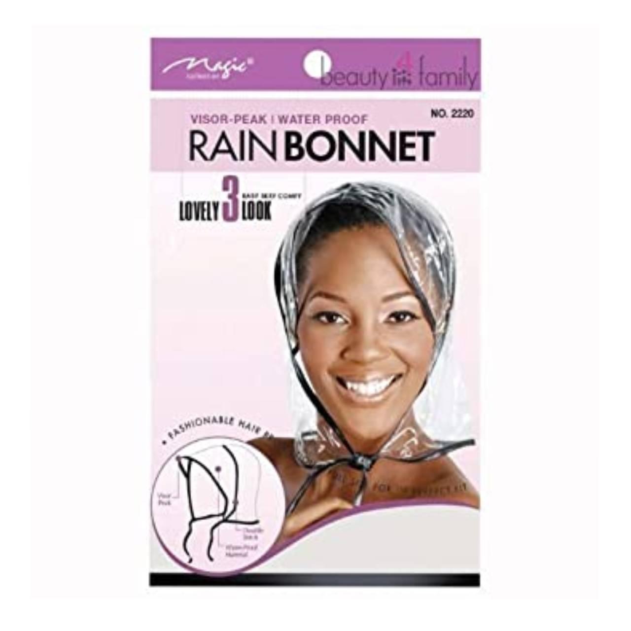 Magic Collection Rain Bonnet Clear - 2220