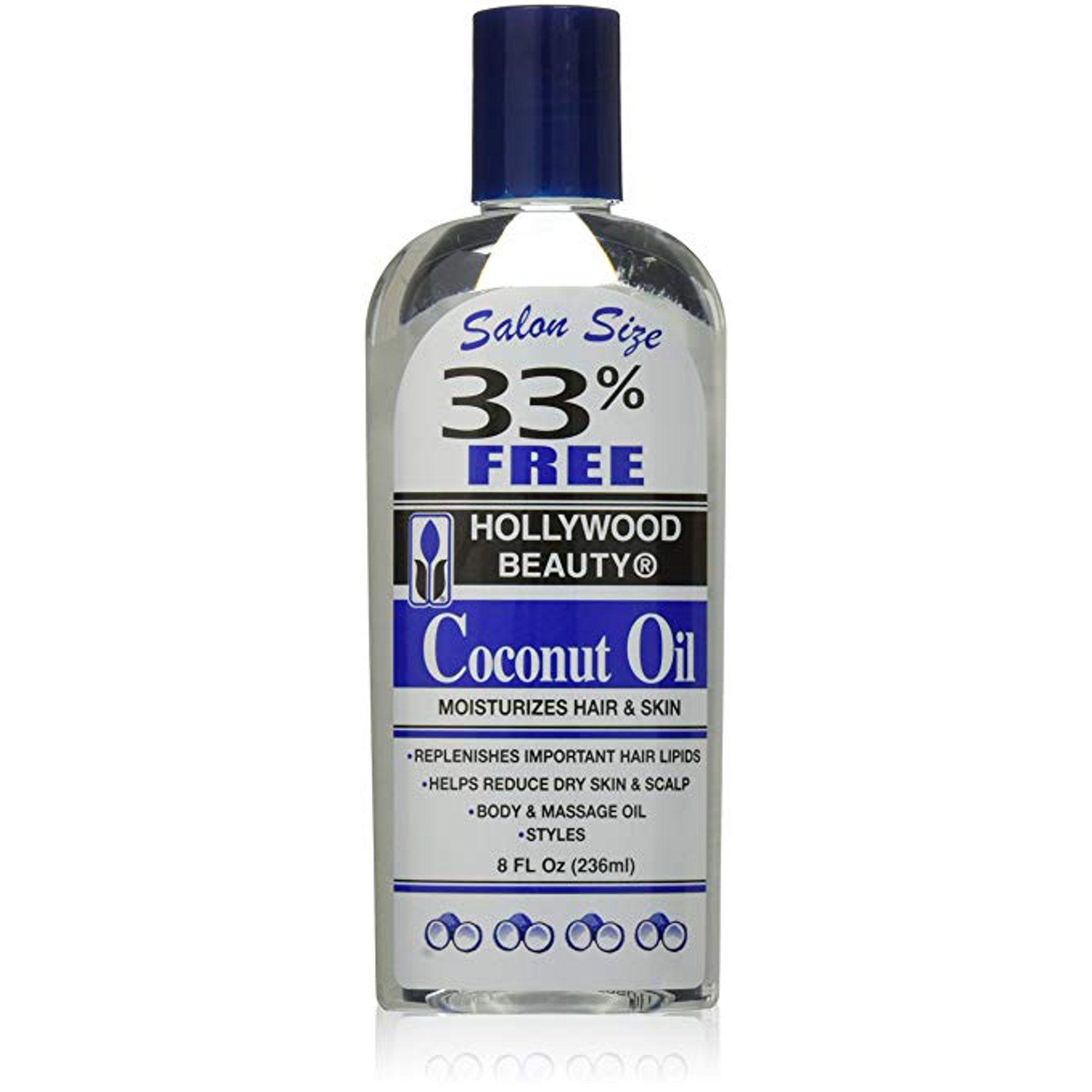 Hollywood Beauty Coconut Oil - 8oz