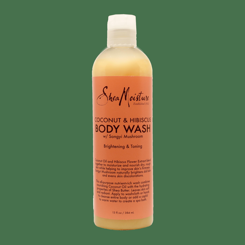 Shea Moisture Coconut & Hibiscus Body Wash - 13oz