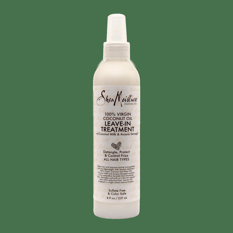 Shea Moisture 100% Virgin Coconut Oil Leave-In Treatment - 8oz