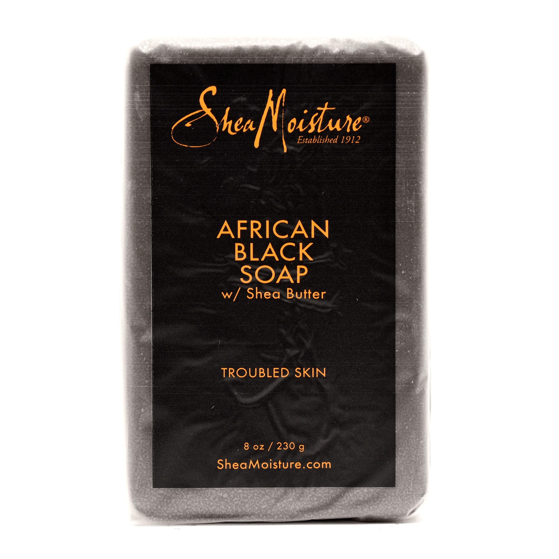 Shea Moisture African Black Soap - 8oz