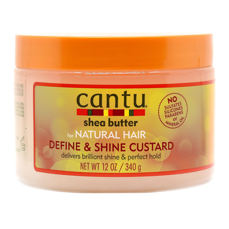 Cantu Shea Butter Define & Shine Custard For Natural Hair - 340g